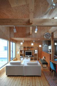 構造用合板張りのリビング! - 島田博一建築設計室のWEEKLY  PHOTO / 栃木県 建築設計事務所