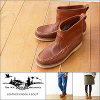 RUSSELL MOCCASIN [ラッセル モカシン] LEATHER KNOCK A BOUT ブーツ・レザー・MEN'S/LADY'S - refalt