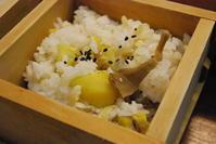 秋ごはん 栗と舞茸 - ハレの日は椿亭の料理でおもてなし   公式weblog