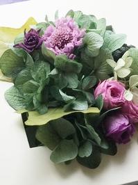あれもこれもの欲張りレッスン(^_-)-☆ - お花に囲まれて