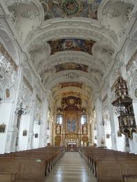 Oberammergau7(修道院の教会) - La Vita in Germania
