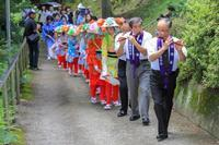 玉川村南須釜の念仏踊り2018夏 - koushin Photograph &マグナ250