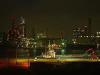 京浜工業地帯工場夜景その2 - 風の香に誘われて 風景のふぉと缶