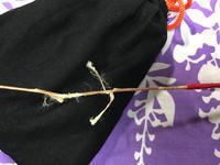 弓の稽古弦切れ - ブリキの箱