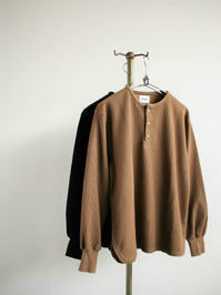 blurhmsNew Rough&Smooth Thermal Henley-Neck L/S - 『Bumpkins putting on airs』
