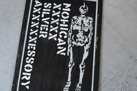 MOHICAN XXXXX ART WORK/ MOHICAN XXXXX SILVER AXXXXXESSORY - アクセサリー職人 モリタカツヤ MOHICAN XXXXX  Jewelry Factory KUROBE