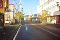鶴岡市本町二丁目の網笠小路 - 「 ボ ♪ ボ ♪ 僕らは釣れない中年団 ♪ 」Ver.1