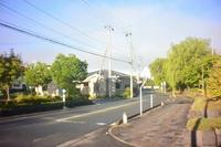 鶴岡市本町三丁目と馬場町の境百間濠端 - 「 ボ ♪ ボ ♪ 僕らは釣れない中年団 ♪ 」Ver.1