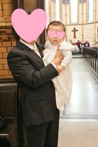 教会で息子の洗礼式&親族との食事会☆ - ドイツより、素敵なものに囲まれて②
