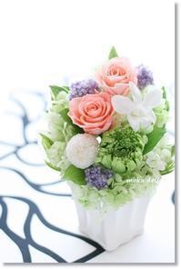 仏花アレンジ 2種 - Flower letters