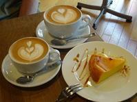 cafe frescoさんでラテとケーキ - *のんびりLife*