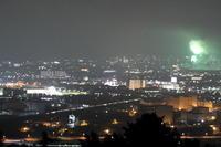 新幹線と夏の夜の花火は、一瞬の儚さ② - 新幹線の写真