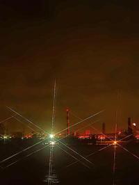 川崎工場夜景製鉄所の光 - 風の香に誘われて 風景のふぉと缶