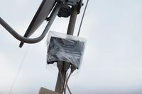 台風21号によるテレビアンテナの補修 - スポック艦長のPhoto Diary