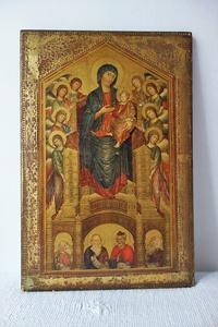 聖母子像のレタブロー805 - スペイン・バルセロナ・アンティーク gyu's shop