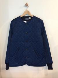 BLUE BLUE JAPAN / インディゴサテンキルティング ノーカラージャケット - Safari ブログ
