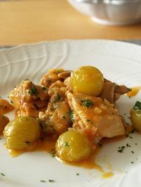 鶏肉の白ぶどう煮込み - シニョーラKAYOのイタリアンな生活