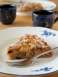 シナモンをたっぷりきかせた『アップルケーキ』 - シニョーラKAYOのイタリアンな生活