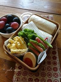 9.12ロールサンド弁当と『今日の美活』 - YUKA'sレシピ♪