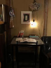 読書コーナーを設置「書斎のように、ゆっくり本をご覧ください!」編 - 納屋Cafe 岡山