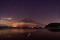 30年9月の富士(1)山中湖の星空と富士 - 富士への散歩道 ~撮影記~
