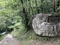 避暑地のロヴィナッチャ滝Cascata della Rovinaccia - ITALIA Happy Life イタリア ハッピー ライフ  -Le ricette di Rie-