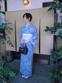 4か月も・・・9月になってしまいました。夏着物で登場の方。 - 京都嵐山 着物レンタル&着付け「遊月」