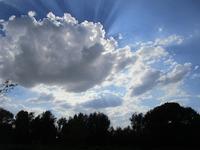 9月のマレの空と雲 - フランス Bons vivants des marais
