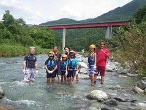 川遊び体験 - NPOつけちスポーツクラブ