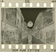 ネガ画像Rollei RPX400×Fuji SPD原液 - モノクロフィルム 現像とプリント 実例集
