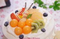 季節のショートケーキ!(^^)! - 『小さなお菓子屋さん Keimin 』の焼き焼き毎日