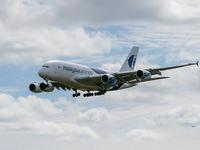 巨大旅客機A380 - 風任せ自由人