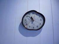 割れた時計の修復(金継ぎと銀継ぎ) - サンカクバシ 土と私の日記