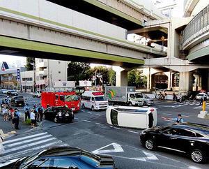 熊野町交差点の交通事故 - のんびり街さんぽ