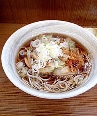 立食いにおける王道。てんぷらそば。たまも@足立区島根町 - はじまりはいつも蕎麦