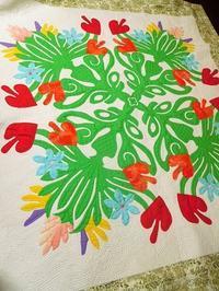 大作のハワイアンキルト - eri-quilt日記3