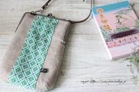 【フィードサック】まずは自分用に初めて御朱印帳ポーチ作ってみました♪ - neige+ 手作りのある暮らし