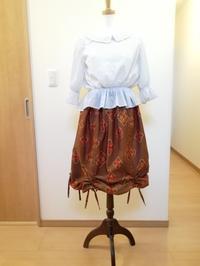 リメイクバルーンスカート - slow着物のブログ
