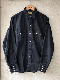 BLACK WESTERN SHIRT - TideMark(タイドマーク) Vintage&ImportClothing