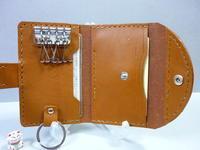 キーケース・・・paddyの創成期から出ています - 革小物 paddy の作品