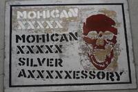 MOHICAN XXXXX ART WORK/ MOHICAN XXXXX MOHICAN XXXXX SILVER AXXXXXESSORY 口開けたガイコツ - アクセサリー職人 モリタカツヤ MOHICAN XXXXX  Jewelry Factory KUROBE
