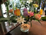 9月のお花レッスンとぴょんぴょん舎 - リタイア夫と空の旅、海の旅、二人旅