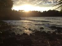 keo'kea beach サンセットと石の話    ハワイ島コハラ滞在記 2018.9 - Hawaiian LomiLomi ハワイのおうち 華(レフア)邸