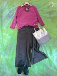 チェリーピンクのセーター - パウダー日記