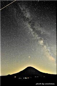 羊蹄山と天の川3 - 北海道photo一撮り旅
