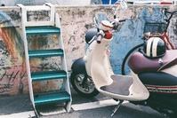 家島島バイク Film5 - Blue Planet Cafe  青い地球を散歩する