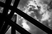 不穏な雲を見つめるトラス - Silver Oblivion