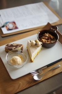 ミル・ガトーレッスン南瓜のレアチーズケーキ - The Lynne's MealtimesⅡ