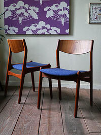 Teak dining chair - hails blog