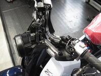 スーパーカブ125にグリップヒーター - バイクの横輪